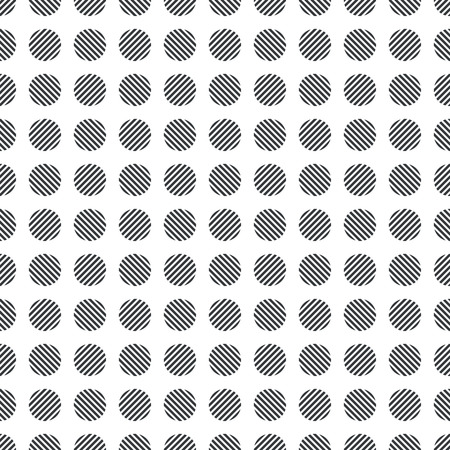 regularly: Seamless pattern. Abstract wrapping background. Modern stylish texture. Regularly repeating striped circles. Vector element of graphical design