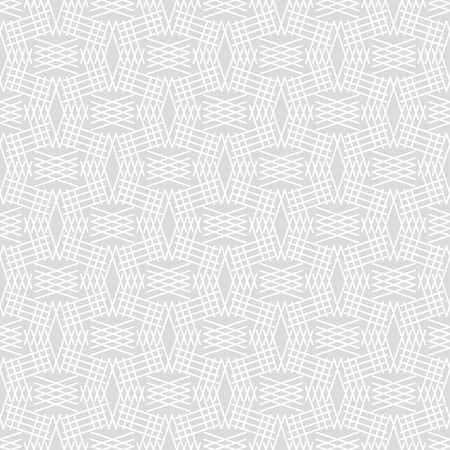 regularly: Seamless pattern. Abstract background. Simple elegant texture with thin lines. Regularly repeating geometrical ornament with intersecting linear grids. Vector element of graphical design