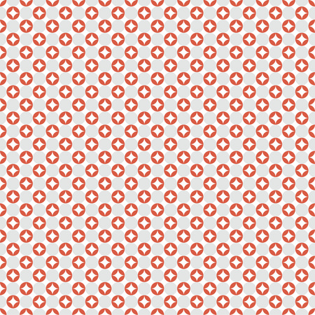 regularly: Seamless pattern. Modern stylish texture with regularly repeating geometrical shapes, rhombus, circle, ovals. Vector element of graphical design