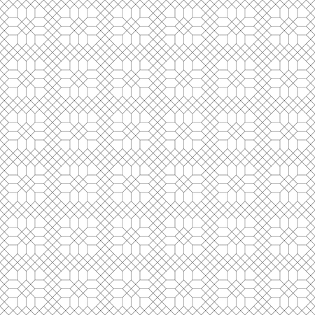 regularly: Seamless pattern. Modern stylish texture. Regularly repeating geometrical pattern with hexagon, polygon, rhombus, polygonal shapes. Vector abstract seamless background Illustration
