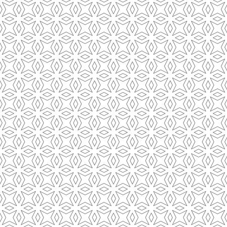 Seamless. texture moderne et élégant. répétant régulièrement motif géométrique avec des étoiles, des losanges, des diamants. Vector abstract seamless background