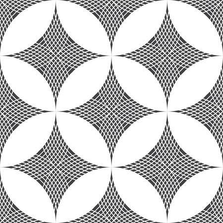 regularly: Seamless pattern. Modern stylish texture with regularly repeating geometrical shapes, rhombuses.