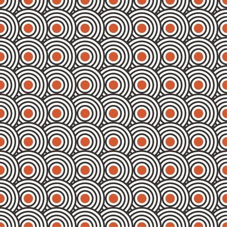 Modèle Art déco transparent. Texture élégante et moderne avec des formes géométriques, des cercles, des points régulièrement répétés.