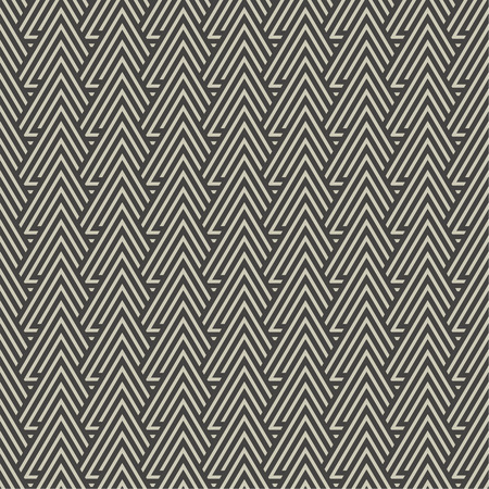 regularly: Seamless pattern. Modern stylish texture with regularly repeating geometrical shapes, triangles.