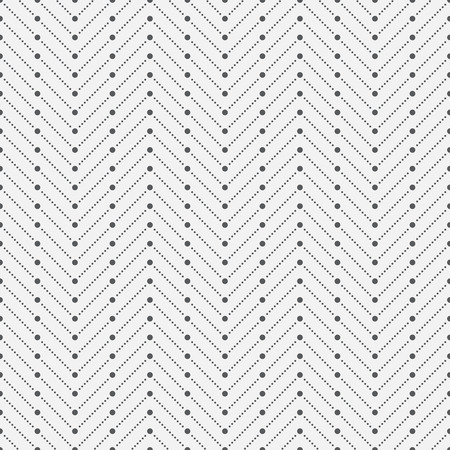 regularly: Dotted seamless pattern. Modern stylish texture. Regularly repeating geometrical pattern with small dots, dotted zigzag lines. Vector abstract seamless background Illustration