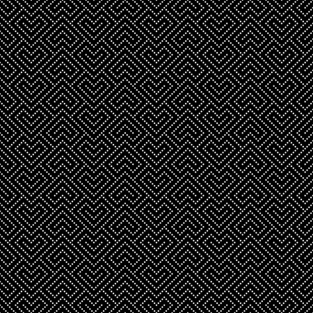 geometrical pattern: Art deco seamless pattern. Modern stylish texture. Regularly repeating geometrical pattern with dashed corner stripes, rhombuses. Vector abstract seamless background