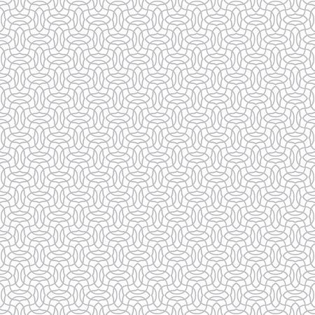 Vector seamless pattern. Moderne texture élégant monochrome. répétant régulièrement motif géométrique avec des vagues qui se croisent. Abstract seamless background Vecteurs