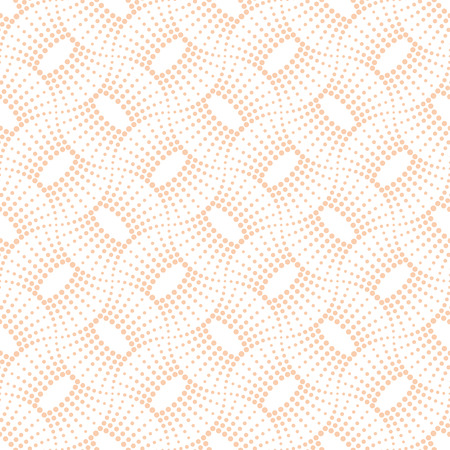 regularly: Seamless pattern. Modern art deco stylish texture. Regularly repeating lace ornament. Abstract small dotted swirl background. Light halftone vector pattern Illustration