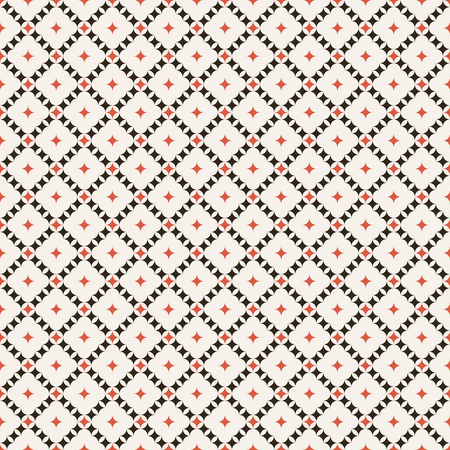 regularly: Regularly repeating elegant geometric rhombic tiles. Vector seamless background