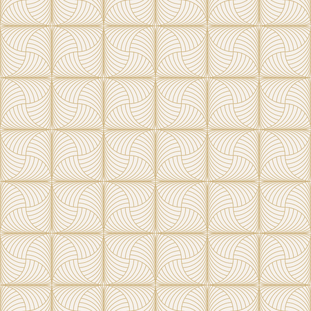 arched: Art deco seamless pattern. Modern stylish texture. Repeating geometrical shapes, arched scales. Vector element of graphic design