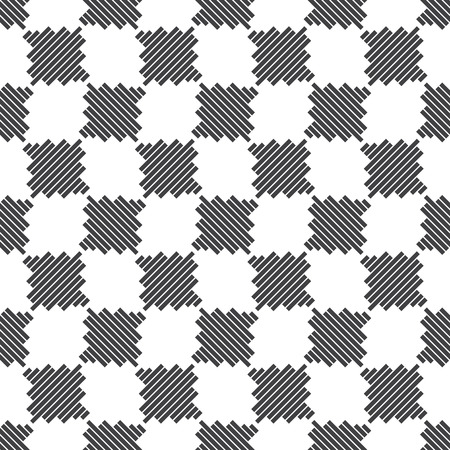 original design: Seamless checkered pattern. Modern stylish texture. Contemporary original design. Vector element of graphical design Illustration
