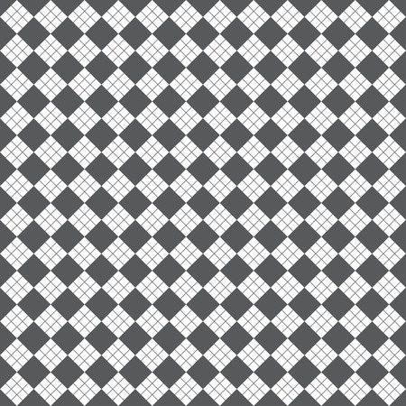 regularly: Seamless pattern. Modern stylish geometric texture with regularly repeating rhombuses, diamonds. Vector element of graphic design