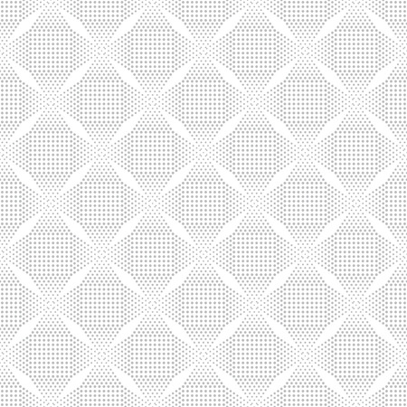 Classical seamless pattern. Modern stylish texture with small dots. Regularly repeating gentle pastel tiles with dotted stars, rhombus. Vector geometric background
