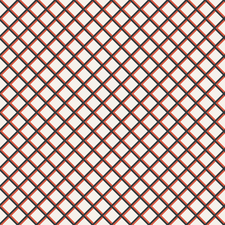 rhombic: Tiled seamless pattern. Classical stylish texture. Regularly repeating grid with elegant geometric rhombic tiles. Vector seamless background