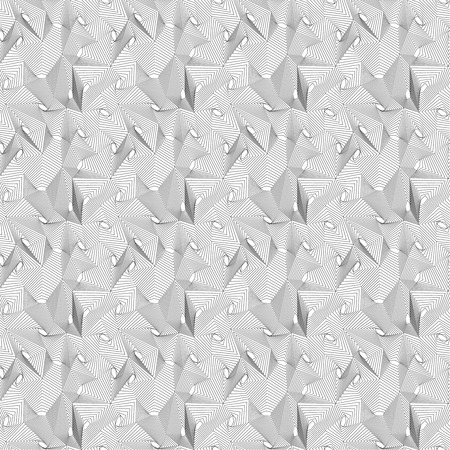 infinitely: Seamless pattern. Infinitely repeating modern stylish texture consisting of simple geometrical linear forms. Modern vector design