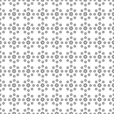 infinitely: Seamless pattern. Modern stylish texture. Infinitely repeating elegant ornament consisting of simple geometric flowers. Vector abstract seamless background