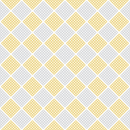 infinitely: Checkered seamless pattern. Classic abstract geometric background. Infinitely repeating geometrical texture consisting of small rhombuses. Vector element of graphical design