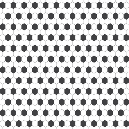 regularly: Seamless pattern. Modern stylish geometric texture with regularly repeating hexagons, cubes. Vector element of graphic design Illustration