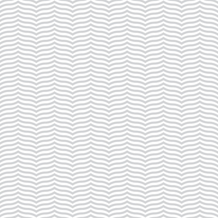 regularly: Seamless pattern. Modern stylish texture. Regularly repeating geometrical ornament with waved zigzag stripes. Vector abstract background
