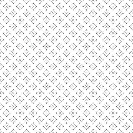 regularly: Classical seamless pattern. Modern stylish texture. Regularly repeating geometrical pattern with crosses, rhombuses. Vector abstract wrapping paper surface