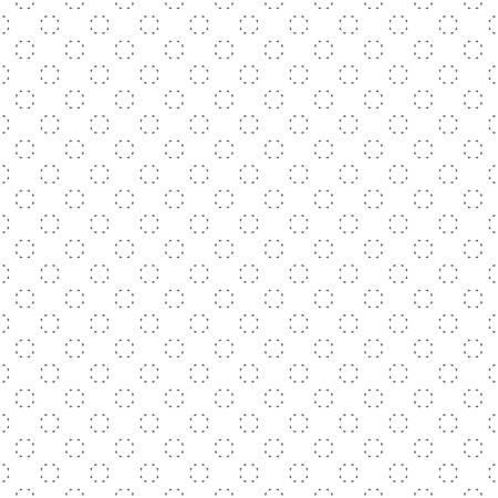 regularly: Seamless pattern. Modern simple minimal texture. Regularly repeating geometrical shapes, circles, triangles. Vector contemporary design