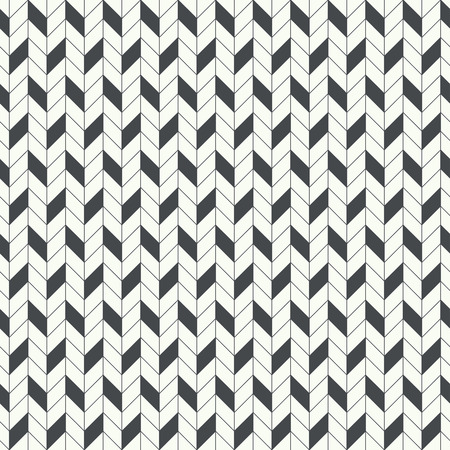 parallelogram: Classical seamless pattern. Modern stylish texture. Regularly repeating geometrical pattern with zigzag stripes. Vector abstract background