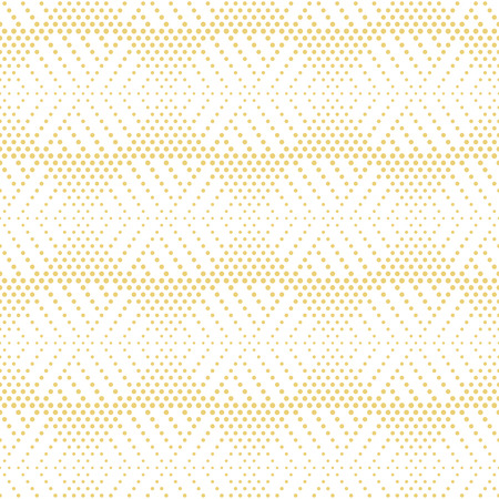 Seamless pattern. Stylish modern small dotted texture. Regularly repeating dotted hexagons, triangles. Vector abstract seamless background. Contemporary design