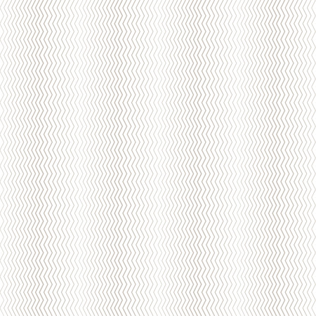 Seamless pattern. Simple linear texture in the form of a zigzag, waves. Repeating geometric shapes, thin zigzag lines of the increasing and decreasing thickness. Halftone effect. Vector abstract background.