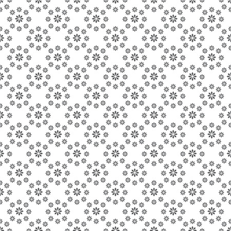 regular: Seamless pattern. Modern stylish texture. Infinitely repeating elegant ornament consisting of simple geometric flowers. Vector abstract seamless background