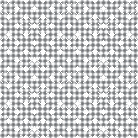 grid: Vector seamless pattern. Abstract small textured background. Regularly repeating modern geometrical texture with rhombuses, diamonds.
