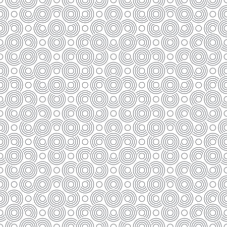 Vector art deco seamless pattern. Modern stylish texture in the form of zigzags with regularly repeating geometrical shapes, circles, semicircle, arcs and dots.