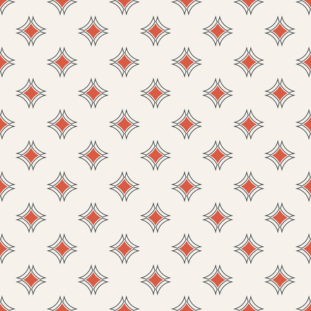 Abstract textured pattern of classical simple geometrical texture with repeating rhombuses, arcs, design for wrapping paper, shirts, cloths, press.