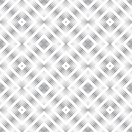 Vector seamless pattern. Abstract halftone background. Modern stylish small dotted texture.