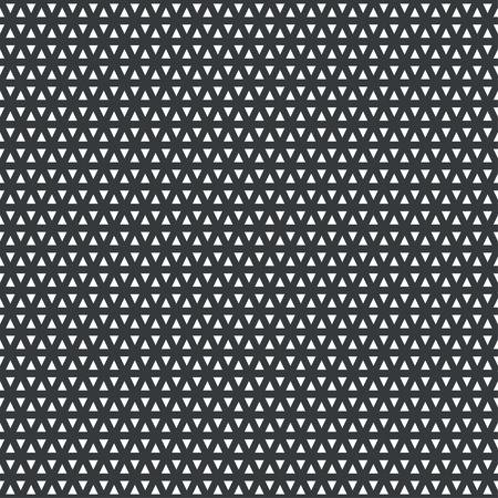 Vector seamless pattern. Abstract small textured background. Classical simple geometrical texture with constant repetition triangles. Surface for wrapping paper, shirts, cloths.