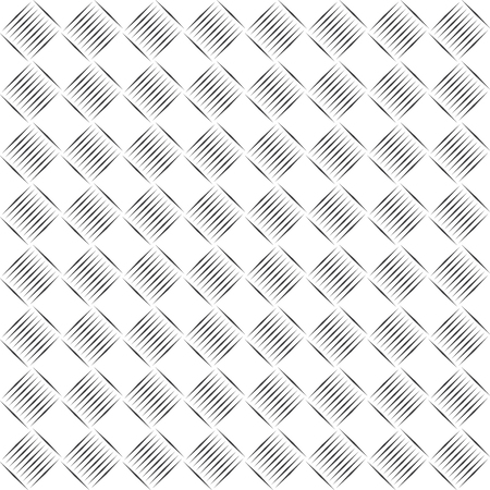 Vector seamless pattern. Modern geometrical texture with thin lines. Regularly repeating linear rhombus shapes. Vector element of graphical design Illustration