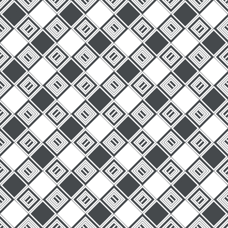 Seamless pattern. Modern stylish texture. Checkered background. Regularly repeating geometrical rhombus tiles. Vector element of graphical design Stock fotó - 125196563