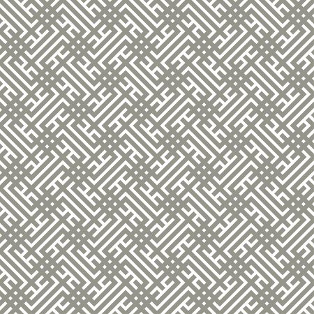 Seamless pattern. Modern stylish texture. Regularly repeating geometrical tiles with corner strips, rhombuses. Vector element of graphical design Stock fotó - 125196568