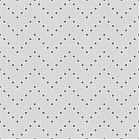 Seamless pattern. Modern stylish texture. Regularly repeating small dotted zigzag shapes. Abstract geometrical background. Vector element of graphical design Foto de archivo - 125196570