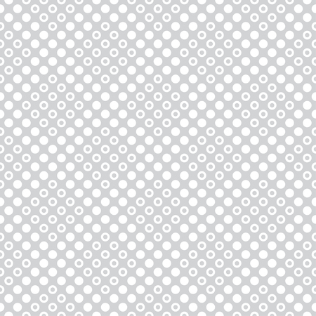 Seamless pattern. Infinitely repeating geometrical tiles consisting of dots, rhombuses. Modern stylish texture. Abstract small dotted background. Vector element of graphical design