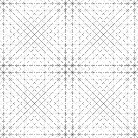 Seamless pattern. Abstract wrapping digital paper. Modern stylish texture with regularly repeating geometrical rhombus tiles, thin line crosses, stars. Vector element of graphical design
