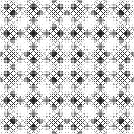 Seamless pattern.Abstract small textured background. Classical simple geometrical texture with repeating small rhombuses. Surface for wrapping paper, shirts, cloths. Vector element of graphical design Stock fotó - 124748058