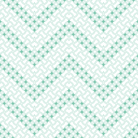 Seamless pattern. Modern stylish texture. Regularly repeating zigzag shapes with rhombuses, circles, stars, waved thin lines. Vector element of graphical design