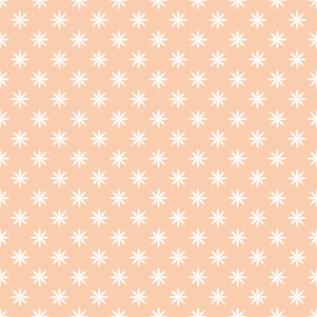 Seamless pattern. Simple elegant texture with original flowers. Pattern can be used as a background, wallpaper, wrapper, page fill, print, element of decoration. Illusztráció