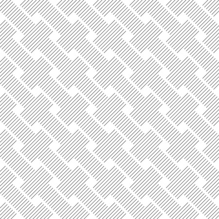 Seamless pattern.Modern stylish texture.Regularly repeating geometrical ornament with diagonal thin lines, rhombuses.Abstract linear textured background.Outline.Vector element of graphical design Stock fotó - 124636549