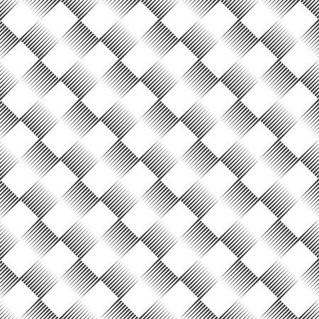 Checkered seamless pattern. Classical stylish texture with thin lines. Regularly repeating geometrical linear checks. Vector element of graphical design