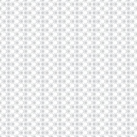 Seamless pattern. Modern stylish texture. Infinitely repeating geometrical texture with outline circles, dots. Vector element of graphical design  イラスト・ベクター素材