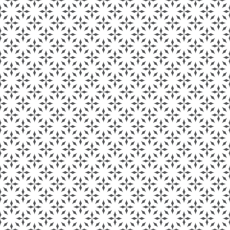 Seamless pattern. Modern stylish geometric texture. Regularly repeating small rhombuses, diamonds, crosses. Wrapping paper. Vector element of graphical design
