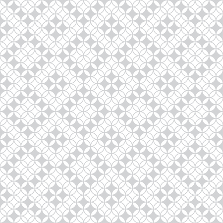 Seamless pattern. Modern stylish texture with intersecting circles. Regularly repeating geometrical tiles with rhombuses, diamonds, flowers. Vector element graphic design