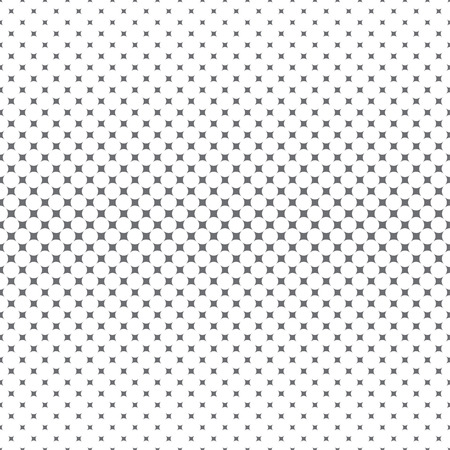 Vector seamless pattern. Abstract halftone background. Modern stylish gold texture. Repeating grid with rhombuses of the different size. Gradation from bigger to smaller. Stock fotó - 124089132