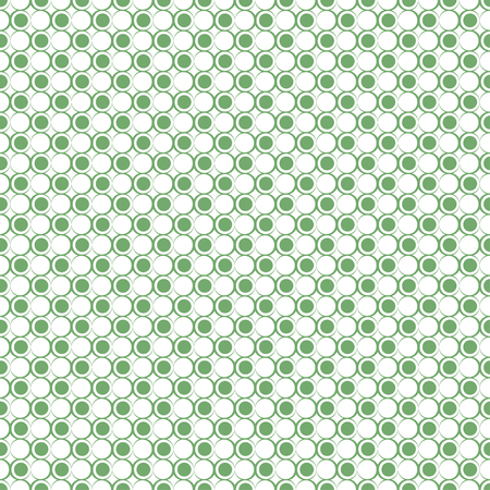 Seamless pattern. Modern stylish texture. Infinitely repeating geometrical texture with dots, outline circles with the decreasing contour thickness. Polka dot. Vector element of graphical design Stock fotó - 124089133